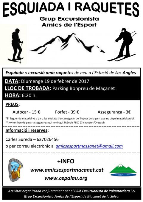 Esquiada i raquetes (2017)