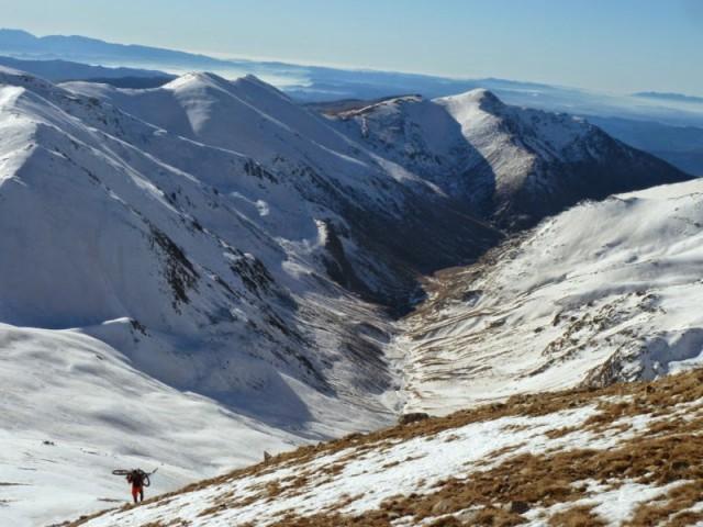 La vall de Coma de Vaca amb el Balandrau al fons,