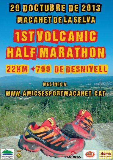 I Volcanic Half Marathon