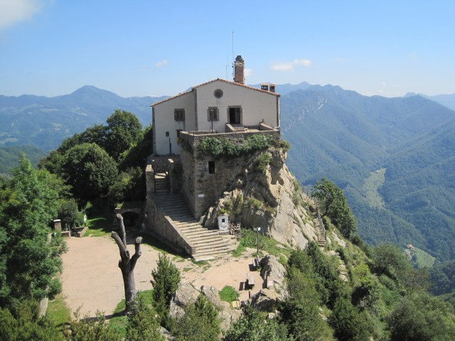 Vidrà - Santuari del Bellmunt (1247m) - Vall del Ges